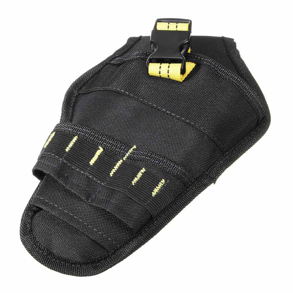 Heavy-duty Drill Holster Tool Belt Pouch Bit Holder Hanging Waist Bag Drill Tool Storage Bags HYD88