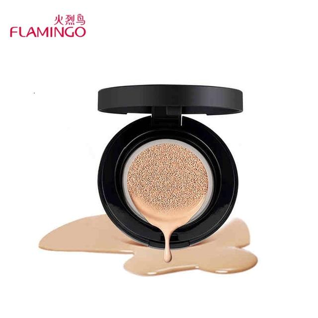 Air Cushion CC Cream Brand Flamingo Moisturizer Concealer Magic Silk Flawless Brighten Natural Air Cushion CC Cream