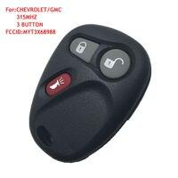 ريموت البعيد مفتاح فوب 3 زر 315 ميجا هرتز التحكم مفتاح لشفروليه كاديلاك gm MYT3X6898B