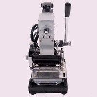 Groothandel Lage Prijs 220 V/110 V Hot Foil Golden Stempelen Machine, Card Kipper Bronzing Machine voor Leer, PVC Card