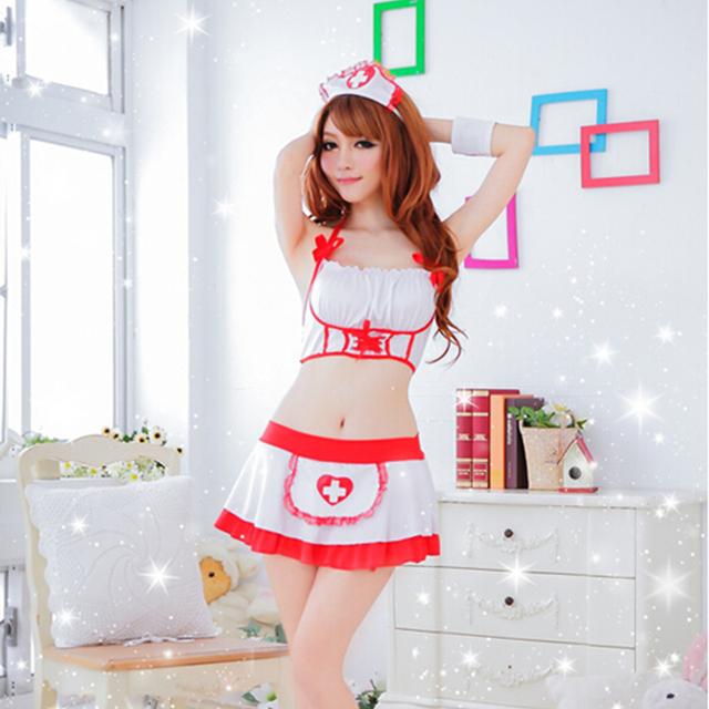 Nurse Costume Erotic Lingerie Role Play