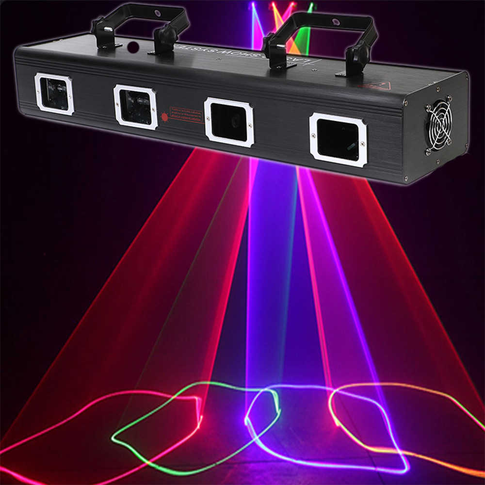Disco Laser Party Lights Scanner Colorful Bar Dmx