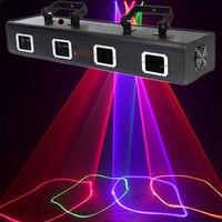 3D дискотека лазерного вечерние световой сканер красочный бар DMX профессиональной Освещение сцены клуба музыкального оборудования dj свет э