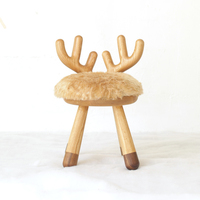 White Ash Wood Children Chair