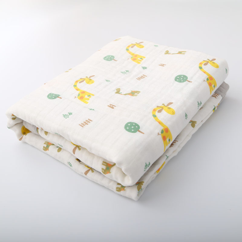 100% Cotton Baby Blankets High Quality Newborn Swaddle Wrap for Babies Muslin Blankets Six Layers Super Comfy Blankets 120*160cm newborn baby swaddles 120 120cm organic cotton muslin super soft unisex plain newborns spring summer babies swaddling blankets