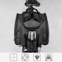 2018 bisiklet ekipmanları bisiklet karbon fiber deri bisiklet arka raf koltuk kapak çanta ve omuzdan askili çanta