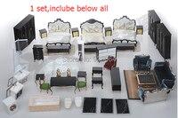 European neo classical furniture models suit / interior decoration ornaments making / building model / sandbox material