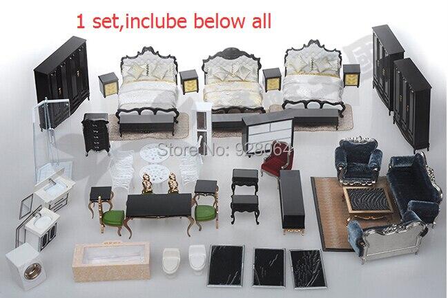 Modèles de meubles néo-classiques européens costume/décoration intérieure ornements fabrication/modèle de construction/matériel de bac à sable