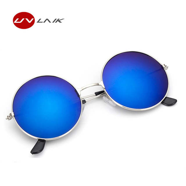 1b791baf3be Classic Round Sunglasses Men Women Small Vintage Retro Glasses Women  Driving Metal Eyewear Sun Glasses For