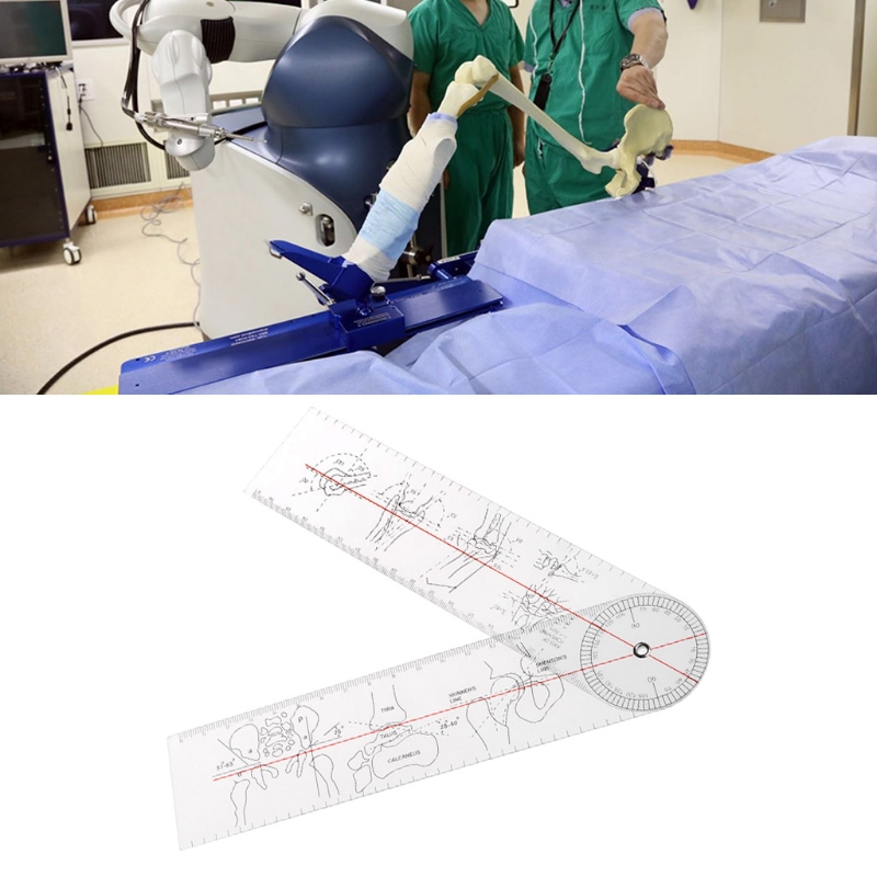 1Pc Spinal Goniometer Distal Radioulnar Joint Ruler Medical Ruler Angle Protractor Bone Measurements Feet