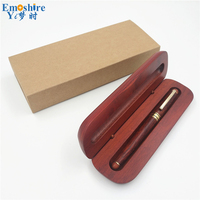 School Office Fountain Pen Classic Wood Fountain Pen for Writing Supplies Top Quality Wooden Pencil Case Penna Stilografica p116