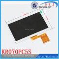 Nuevo 7 '' pulgadas 60 pin pantalla LCD KX0706003-A0 700CP5650-60 KR070PC5S tableta LCD resolución de la pantalla 800 * 480 envío gratis 5 unids/lote
