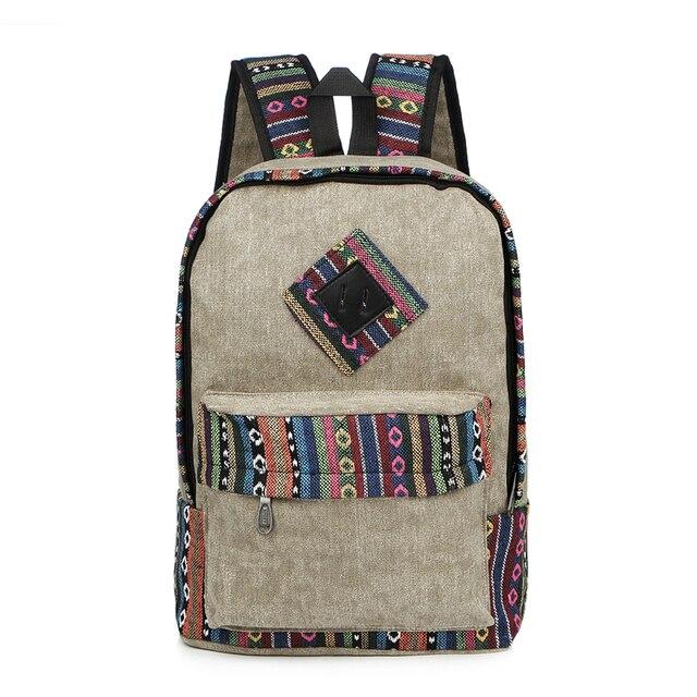 Vintage School Backpack 2