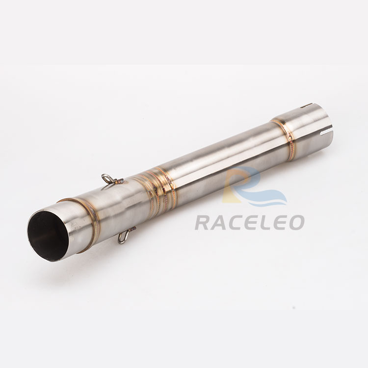 R6 Motorcycle exhaust middle pipe For YZF R6 mid pipe R6 link pipe stainless steel Exhaust link middle Pipes fit for 1998-2005