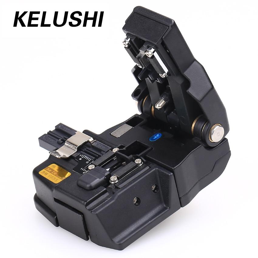 Ferramentas HS-30 KELUSHI High Precision Optical Fiber Cortador para 250-900um Para Splicer Fusão de Fibra Óptica Cleaver para Fujikura CT-30