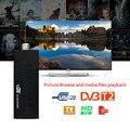 Stick de TV Chromecast 1080 P Digital Terrestre DVB-T2 TV Receptor Set Top Box Cumplir DVB-T/T2 H.264 MPEG4 3D HDMI USB sintonizador de Tv