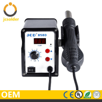 JCD858D 220V Hot Air Gun 700W ESD Soldering Station LED Digital Heat Gun Desoldering Station Upgrade