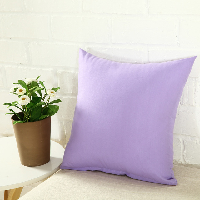 One Colored Pillow Case 6