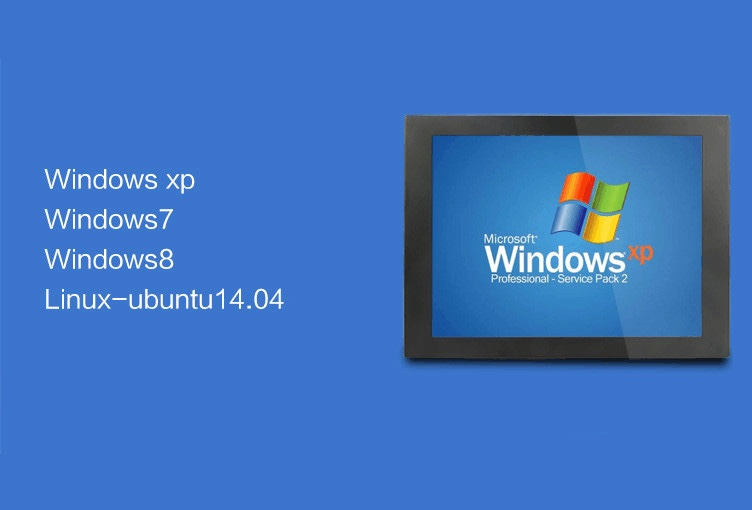 Bestview 10.4 Inch AIO Embedded Panel PC Industrial Mini Computer Used For Automation