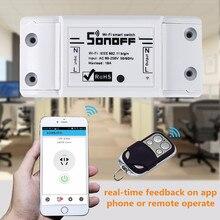 ITEAD Sonoff Wifi Sans Fil Smart Switch Domotique Module Minuterie DIY wifi À Distance Contrôleur Via IOS Android 10A/2200 W