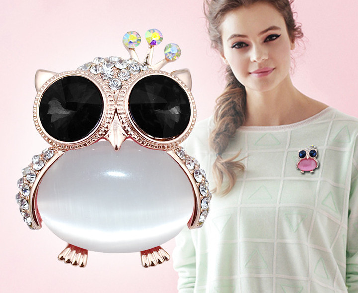 opal owl brooches 7