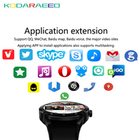 K98H Smart Watch Android 4.4 OS 1.3 IPS Screen 3G SIM WiFi Smartwatch phone MT6572A Dual core GPS Fitness Tracker Wristwatch