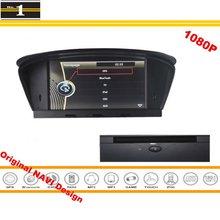 Para BMW 630i 630Ci 635d 645Ci 650i M6 2004 ~ 2010-Car Tela HD DVD Player de Navegação GPS CD Rádio Estéreo Projeto Original sistema