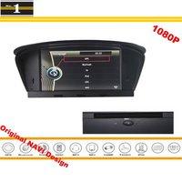 For BMW 630Ci 630i 635d 645Ci 650i M6 2004~2010 Car GPS Navigation Stereo Radio CD DVD Player HD Screen Original Design System