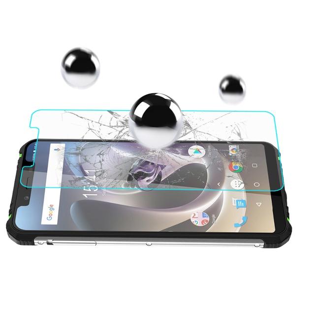 HOMTOM ZOJI Z33 Tempered Glass 100% Original Premium 9H 2.5D Screen Protector Film For HOMTOM ZOJI Z33 Phone (Not Full Cover)
