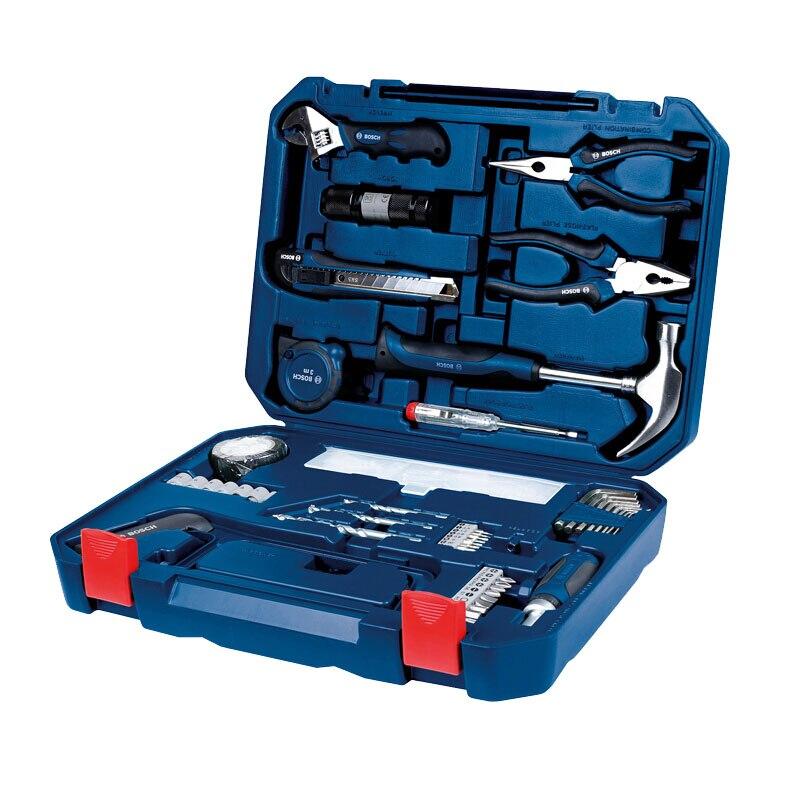 Bosch Home Multi Toolbox 108 Piece Set Hand Tool Set Household Tool Accessories Multi Tool Set
