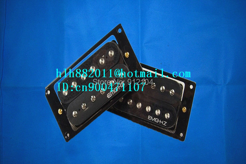 free shipping new electric guitar opened pickup in black made in Korea  EM-01 belcat bass pickup 5 string humbucker double coil pickup guitar parts accessories black