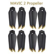4 أزواج MAVIC 2 برو/التكبير 8743F منخفضة الضوضاء الإفراج السريع المروحة شفرات ل DJI MAVIC 2 برو/التكبير ملحقات طائرة بدون طيار