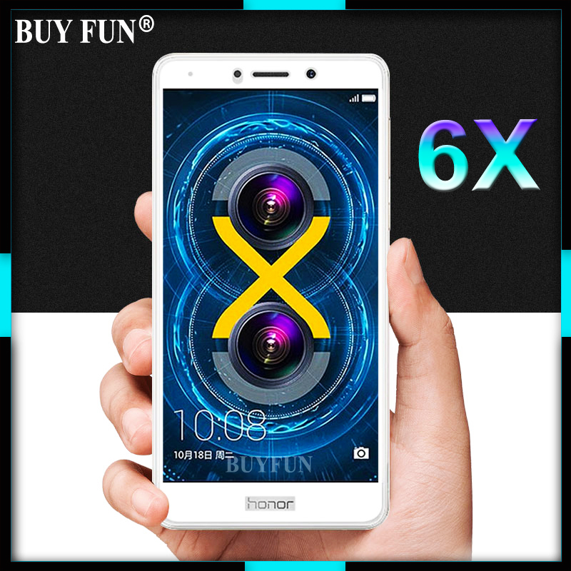 3D Full Cover Screen Protector For Huawei Honor 6X Case Tempered Glass On The Honor6X 6 X X6 Glass Film Protective Premium Glas