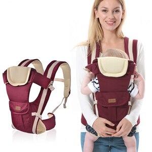 Image 2 - Porte bébé multifonctionnel de 2 à 30 mois, porte bébé, porte bébé, porte bébé, porte sac à dos, pochette enveloppée, haute qualité