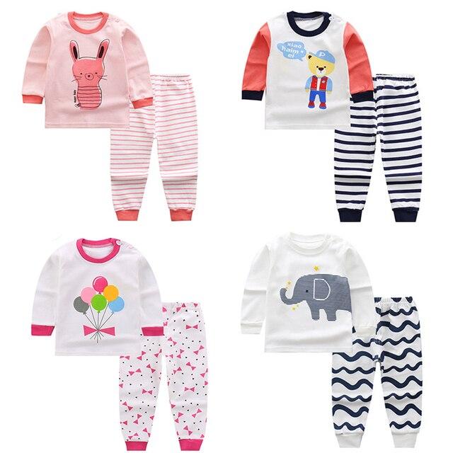 b1ced869f Kids Clothes Big Boys Girls Pajamas Sets Unicornio Pyjamas Kids ...
