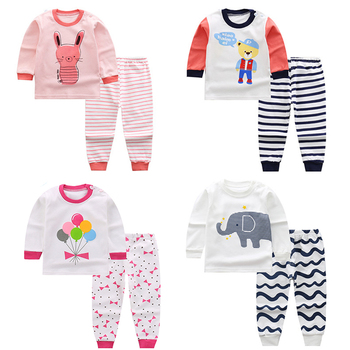4aa6e2ed2 La ropa de los niños grandes niños niñas conjuntos de pijamas de Unicornio pijama  niños ropa de dormir de algodón pijamas Homewear dibujos animados niño ...