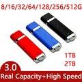 Подлинная High Speed USB 3.0 Flash Drive 1 ТБ 2 ТБ Pen Drive 64 ГБ 128 ГБ 256 ГБ Cle USB Stick Ключ Pendrive 3.0 512 ГБ Creativo подарки