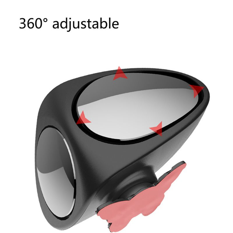 2019 New New 1 Pc Auto Car Rear View Mirror 360 Rotatable Adjustable Blind Spot Convex Wide Angle Mirror Left/ Right