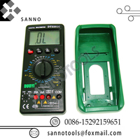 High professional auto repair tool manual multi function digital multimeter tester for AC / DC voltage & diode test