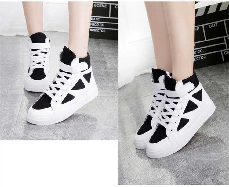 LOVE Fashion High Top Casual Shoes For Women Canvas Shoes 2015 New Autumn Ankle Boots Breathable Ladies Shoes Student Flats YD28 (15)