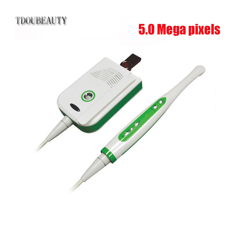 TDOUBEAUTY High QualityCan U Disk Storage And Wired Wireless CCD Dental Intraoral Camera 5.0 Mega Pixels MD-2000C Free Shipping new arrival dental intraoral camera can page up down and delete wifi transfero computer save picture into u disk