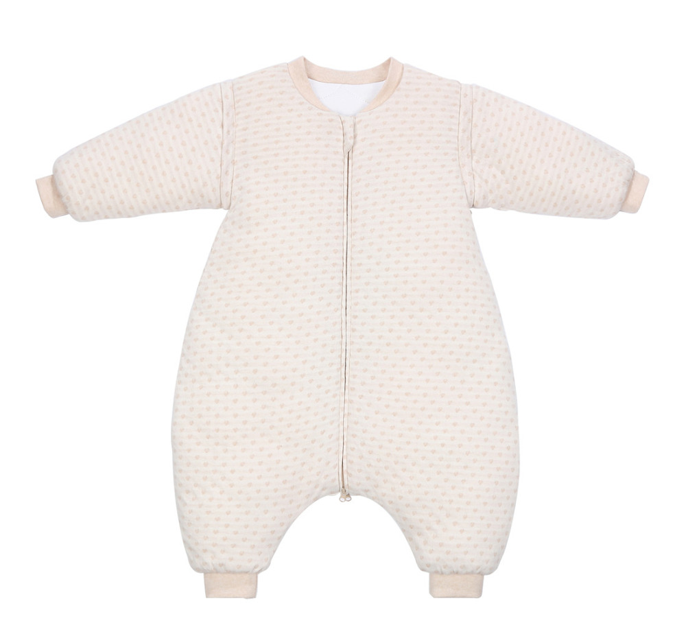 d3d2f65060 Heart Organic Cotton Baby Sleepsack Baby sleepwear Thick Blanket Sleepers  For Toddlers Winter Pajamas for Baby -in Blanket Sleepers from Mother   Kids  on ...