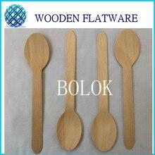 500PCS/LOT  Disposable Wooden Spoon 4 1/4 inch (11cm)