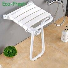 Wall Mounted Shower Seat shower folding seat for elderly toilet bath stool bathroom bench Cadeira for seniors and elders