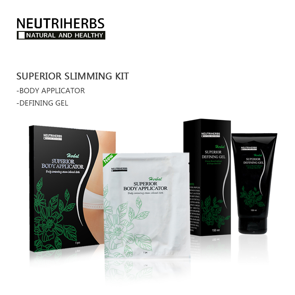 Neutriherbs 5pcs Body Slimming Wraps + 1pc 150ml Belly Slimming Creams Gel for Women Wei ...