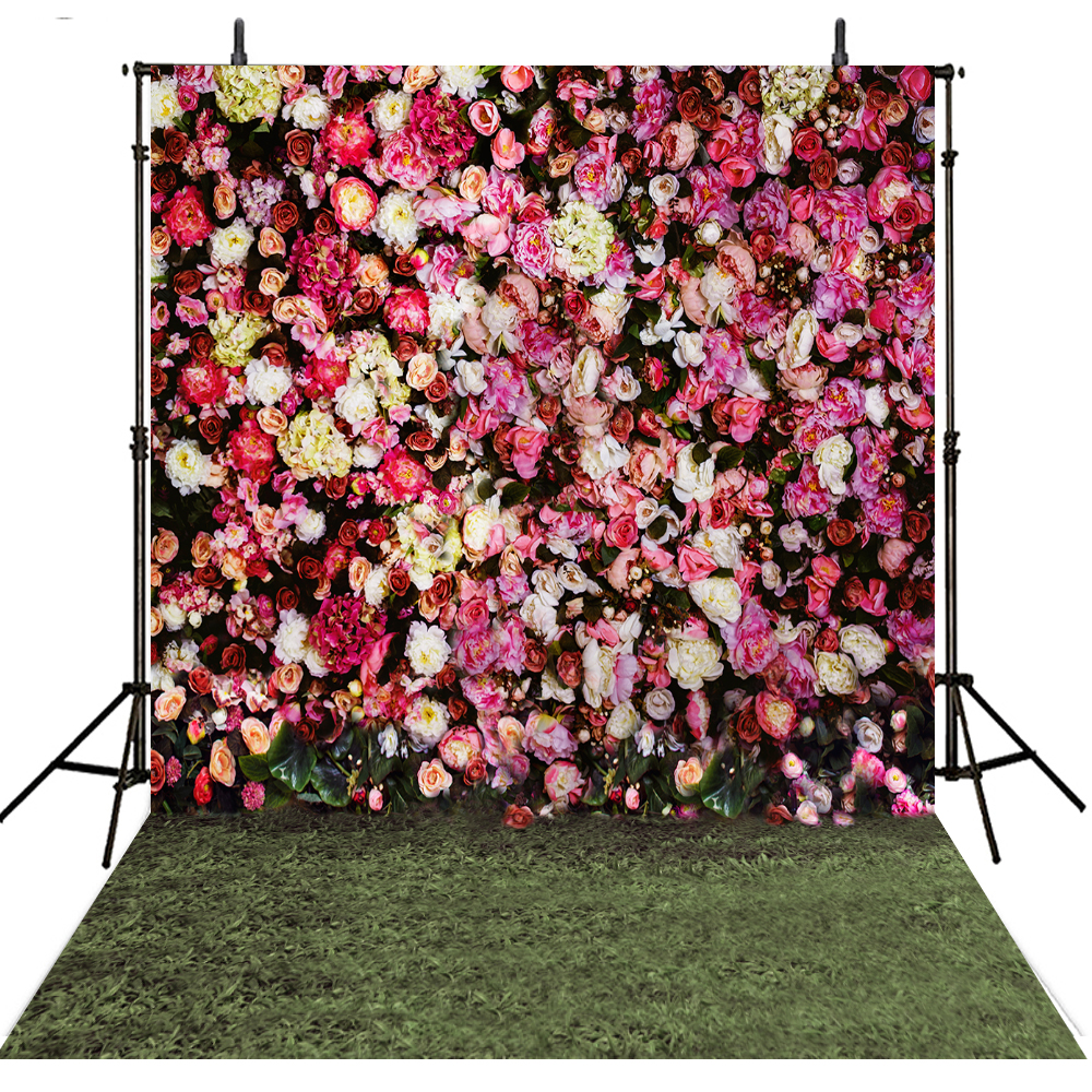 Floral Wedding Photography Backdrops Vinyl Backdrop For Photography Camera Fotografica Flowers Background For Photo Studio ashanks photography backdrops white screen 1 8 2 8m photo background for photo studio 6ft 9ft backdrop for camera fotografica