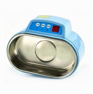 Image 5 - Heißer 35 W/60 W 220V Mini Ultraschall Reiniger Bad Für Cleanning Schmuck Uhr Gläser Platine limpiador ultrasonico Bad EU