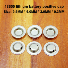 Get more info on the 100pcs/lot 18650 Battery Flat Head To Change The Tip Cap Lithium Positive Spot Welding Accessories
