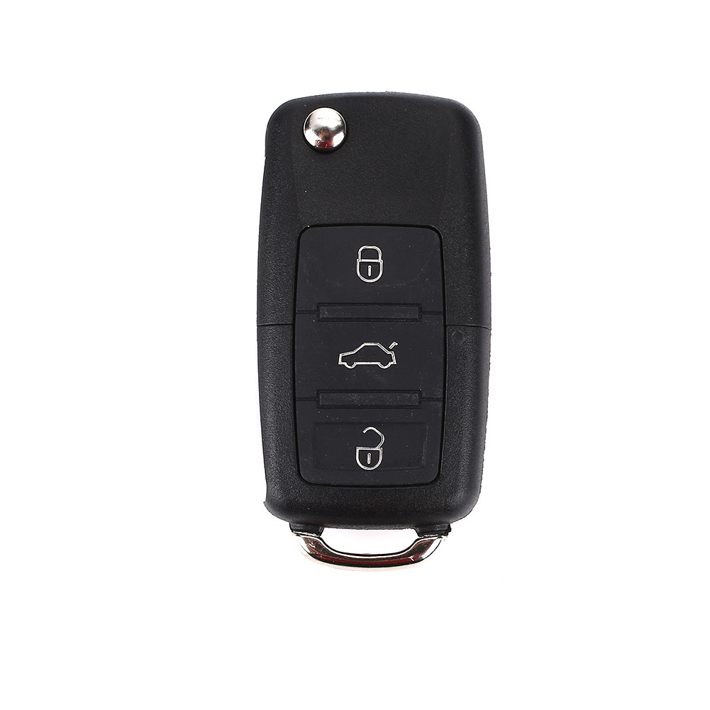 DIY Shell Car Key Case Key Fob Remote Key Case Durable Premium Replacement Cover Protection for Volkswagen(China)