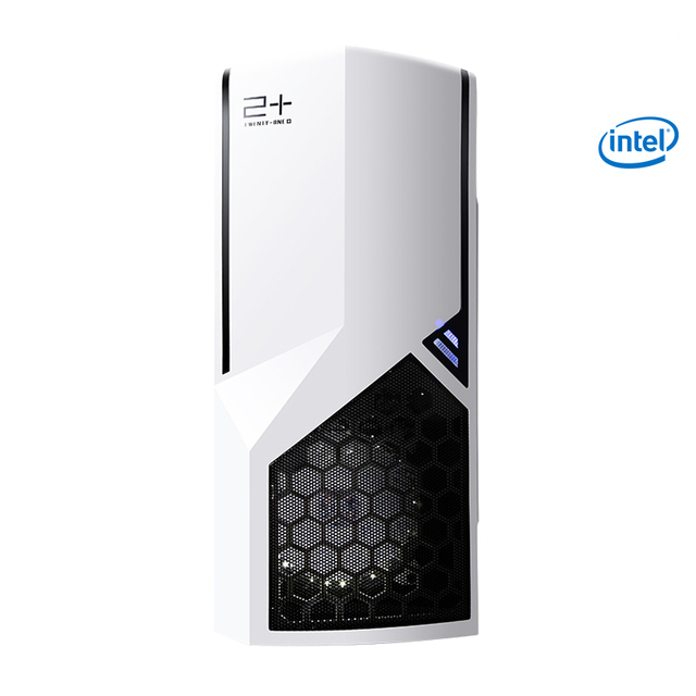 Getworth Intel i5 8400 2.8GHz Office Desk Home Integrated Graphics Card 120GB SSD 8GB RAM Computer PC Home Dedesktop White S101 2